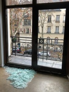 Vitre cassée Vitrier Seine et Marne-77